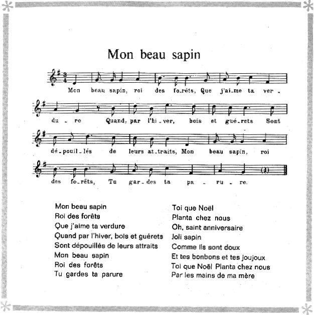 Comment Jouer Mon Beau Sapin Au Piano