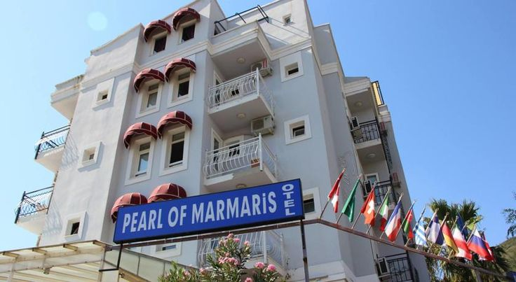 Pearl of Marmaris Marmaris Located only 200 metres from the seafront, Pearl of Marmaris features a private beach area with free sun loungers and parasols. It offers an outdoor pool and free WiFi.  All the air-conditioned rooms come with a satellite TV and a balcony.