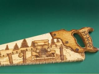 Free Pyrography Patterns | Pyrography Online - Scrolled and Woodburned Hand Saw