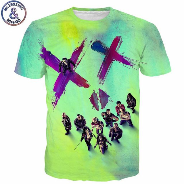 Fair price  Summer Fashion Hot Suicide Squad T Shirts Harley Quinn Joker Tee Shirts Personality Novelty Short Sleeve  Top Tees just only $11.20 with free shipping worldwide  #tshirtsformen Plese click on picture to see our special price for you