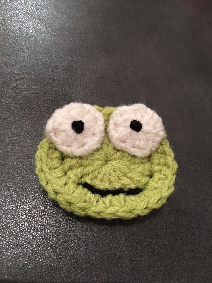 Appliqué Frog / Animal,  Crochet  | eBay