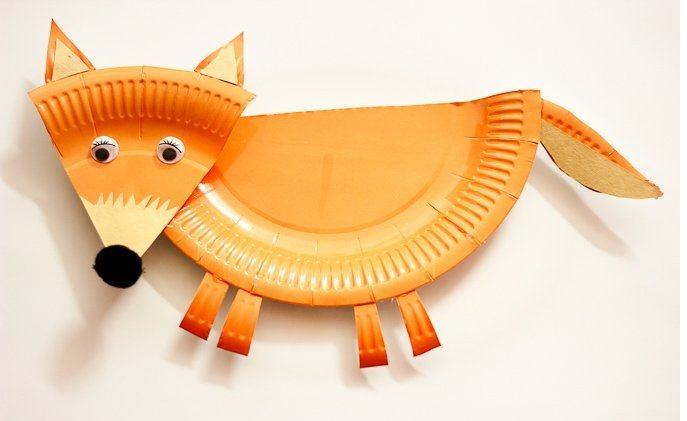 Paper-Plate-Fox-Craft-Preschool - Preschool CraftsPreschool Crafts | Mobile Version