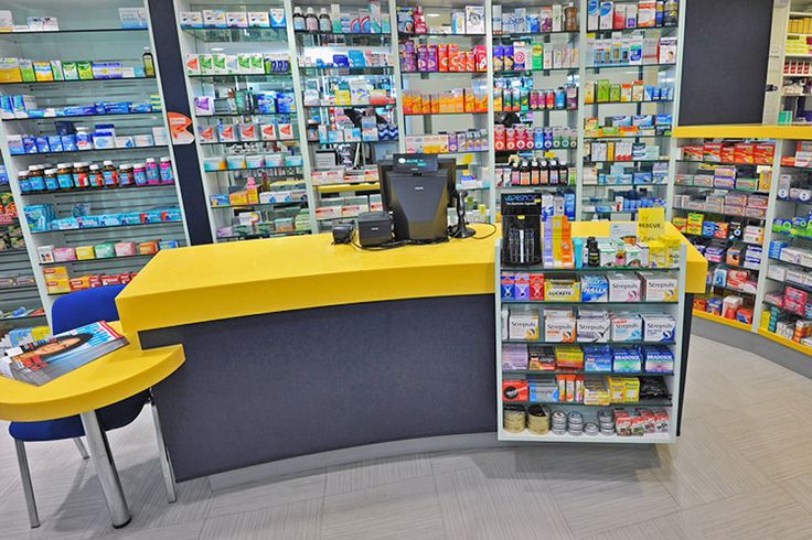 Pharmacy Counter Design | Bespoke solutions - Rapeed