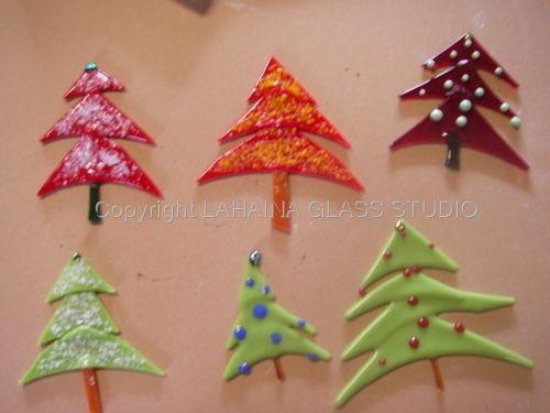 Christmas Tree Ornaments Glass Fusing Seasonal Pinterest