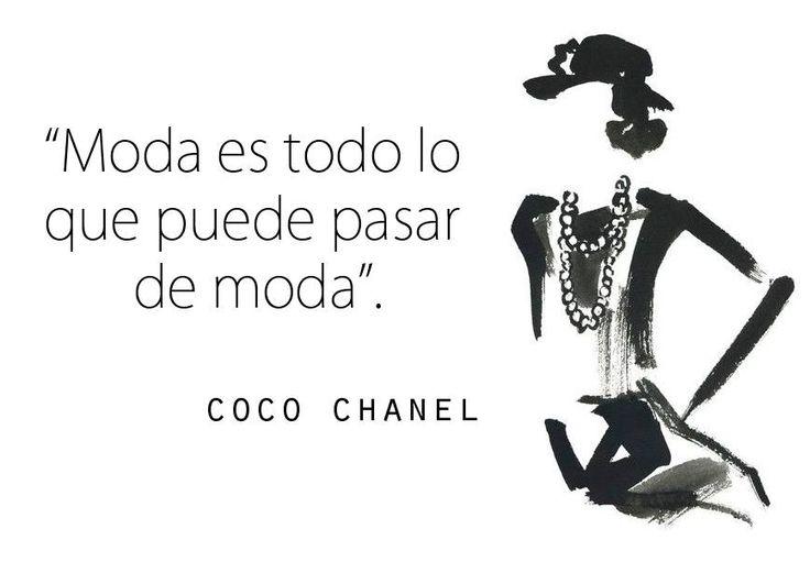 Porque la moda es volátil, dinámica y viva...¡Si no puede pasar de moda, no es moda!