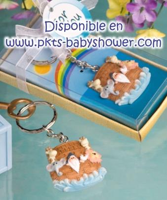 Recuerdos para Baby Shower - Llavero Arca de Noe - Disponible en www.pkts-babyshower.com