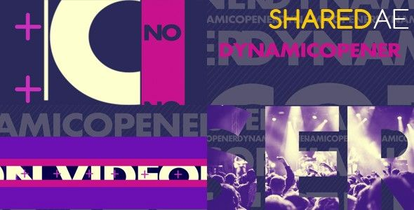 Videohive - Dynamic Opener 19311547 - Free Download