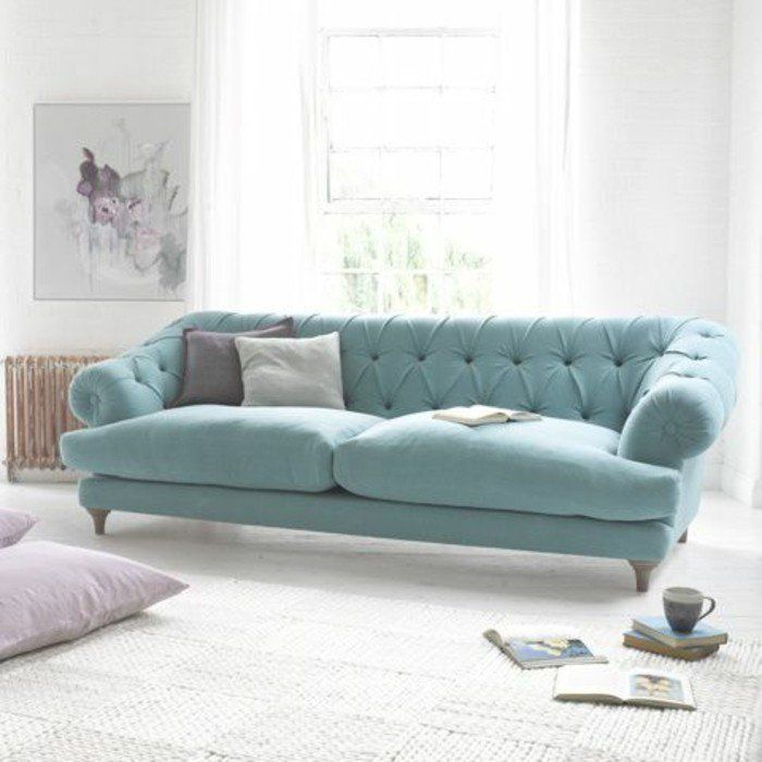 Canap chesterfield blanc pas cher id es d 39 images la maison - Canape chesterfield blanc pas cher ...