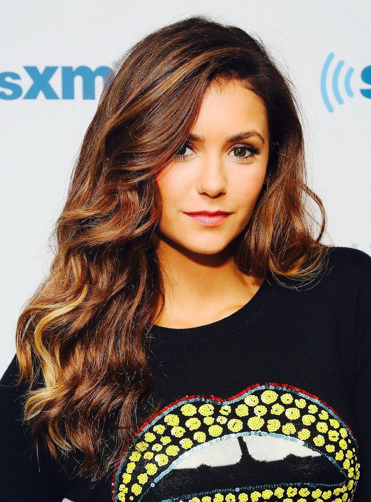 Nina Dobrev visits the SiriusXM Studios on August 4, 2014 in New York City.