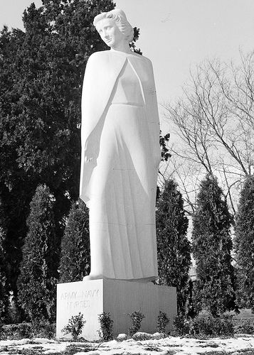 Nurses Memorial, Arlington National Cemetery, 1938   Flickr
