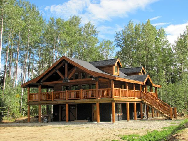 Sundance. Immaculate log homes! Order yours today! 250-566-8483