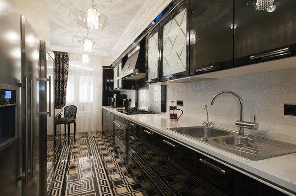 Длинная узкая кухня - идеи дизайна.... Обсуждение на LiveInternet - Российский Сервис Онлайн-Дневников