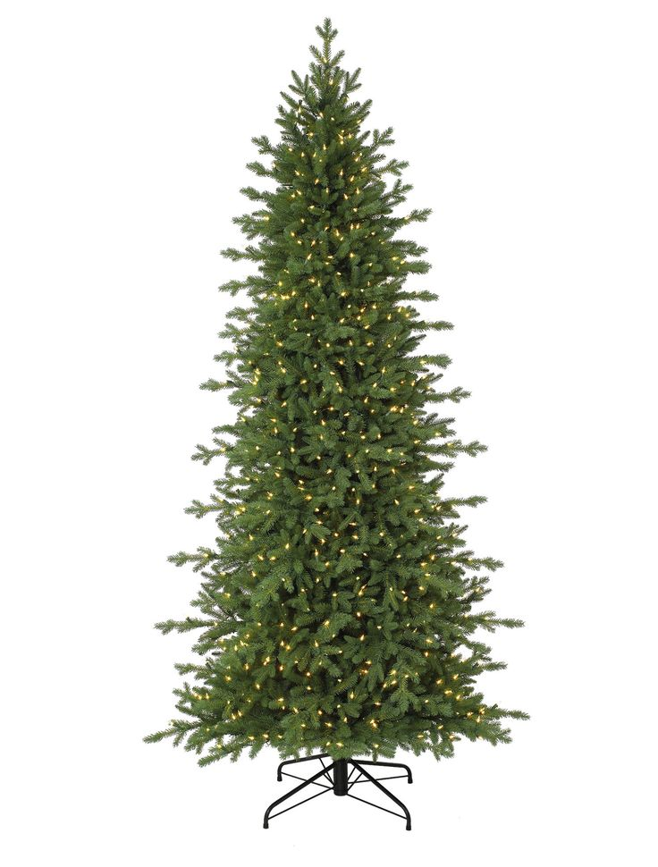 Buy Red Spruce Slim Artificial Christmas Trees Online   Balsam Hill. I bought this tree and I love it!