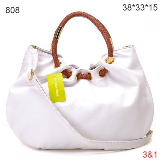 Michael Kors Skorpios Ring Bag White
