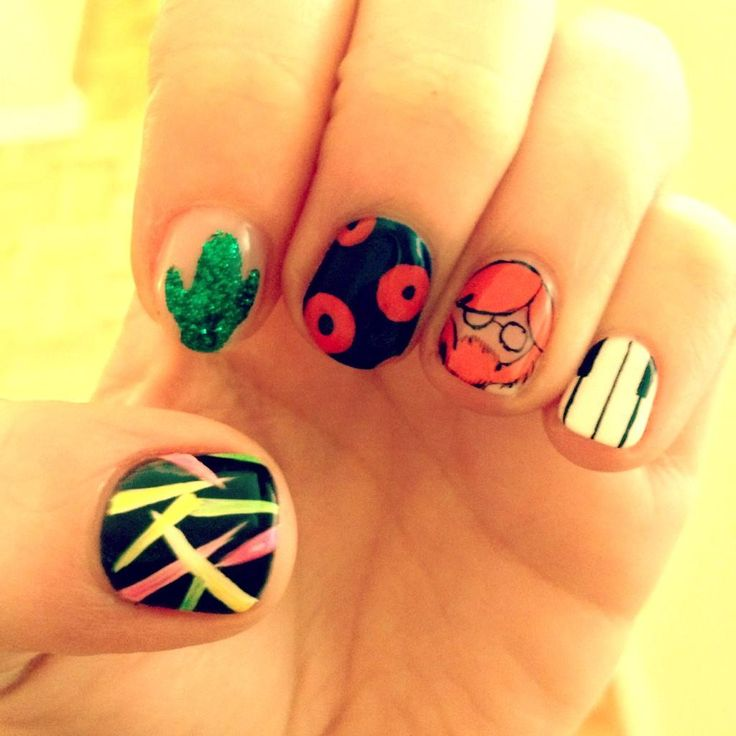 Sexiest nails I've EVER seen. Boom!