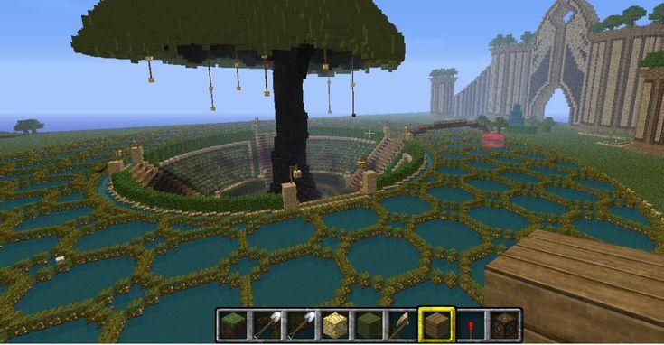 Awesome Garden MINECRAFT Minecraft Garden Minecraft Minecraft Plans