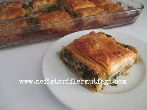 Pırasalı Ispanaklı Arnavut Böreği - YouTube