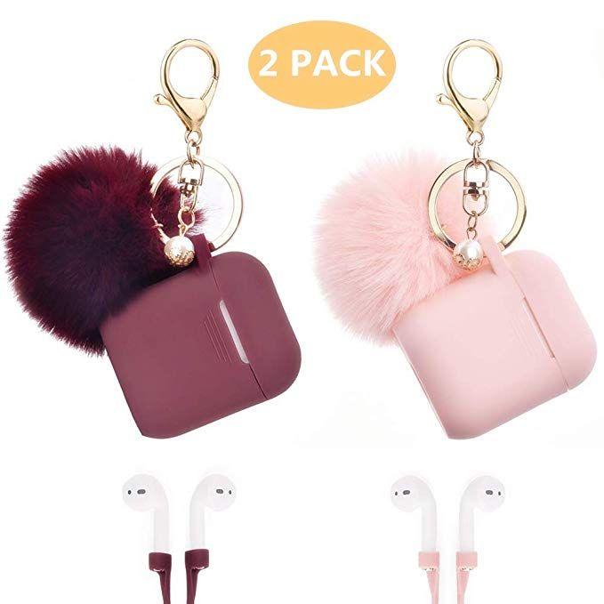 Amazon Com Airpods Case Filoto Airpods Silicone Glittery Cute