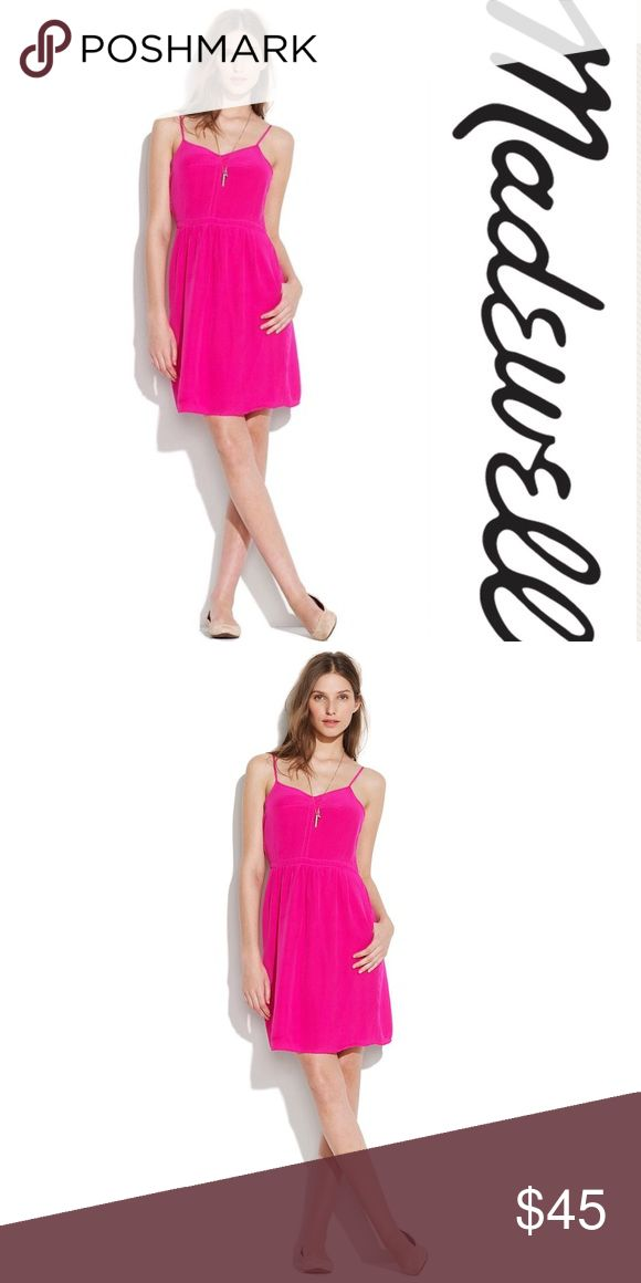 Madewell Broadway & Broome Silk Cami Dress - 4 Excellent preowned condition.  Offers welcomed!  P13 Madewell Dresses Mini