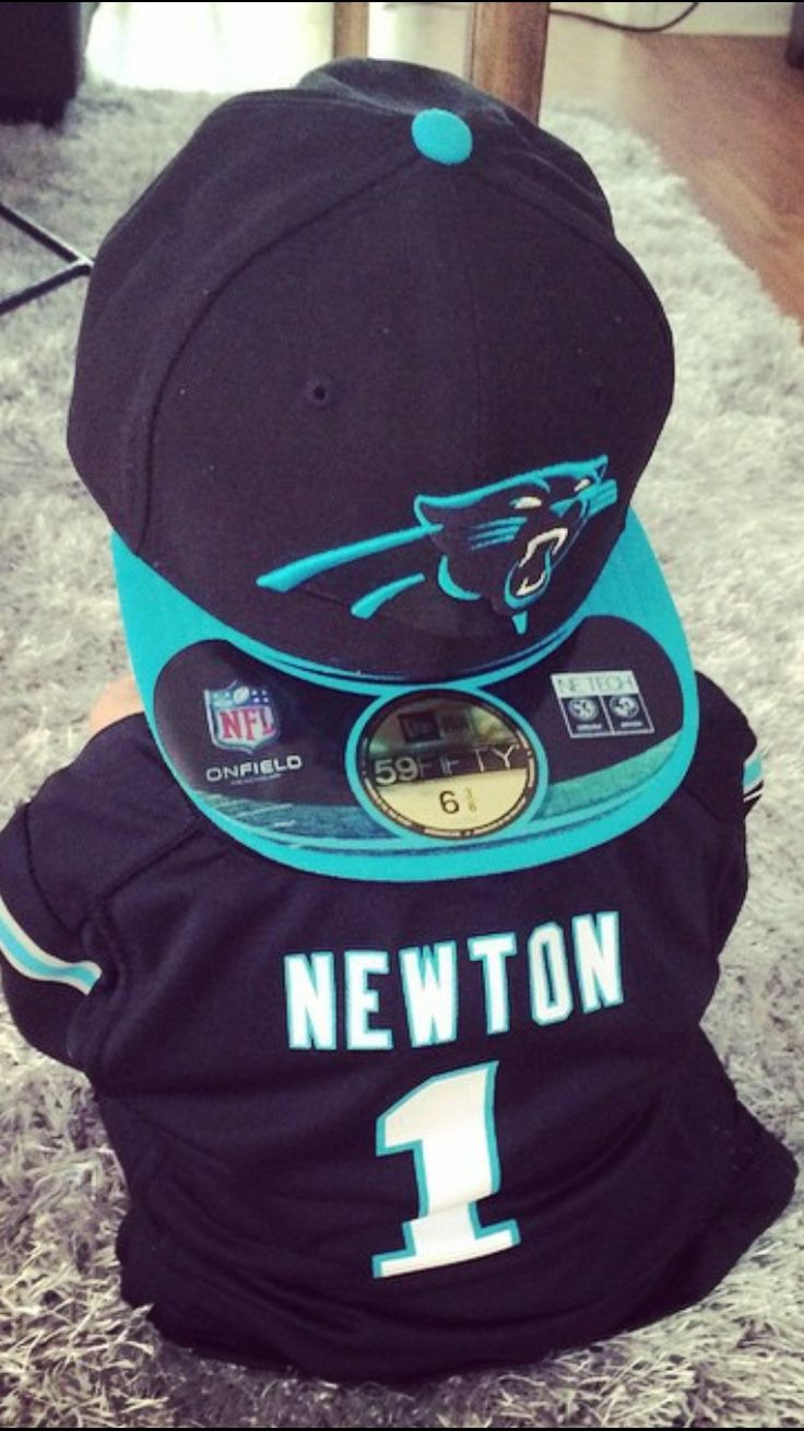 Why does Panthers gear look so cute on tiny people?!