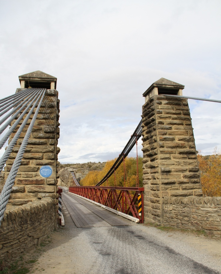 Ophir Bridge, Central Otago, NZ. JKB
