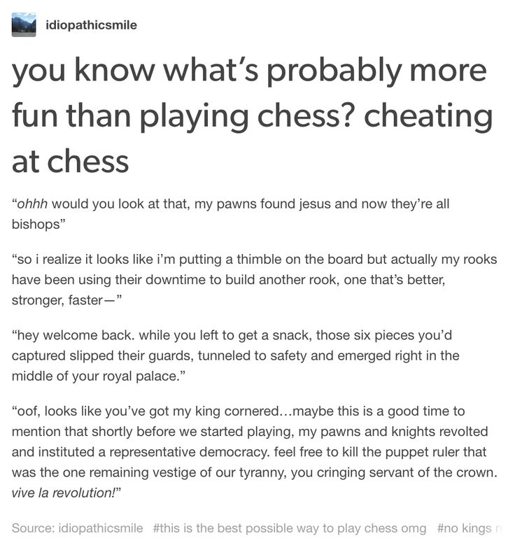 As a chess player, I can say that that is probably something more chess players should be doing (on their own time, of course) lol