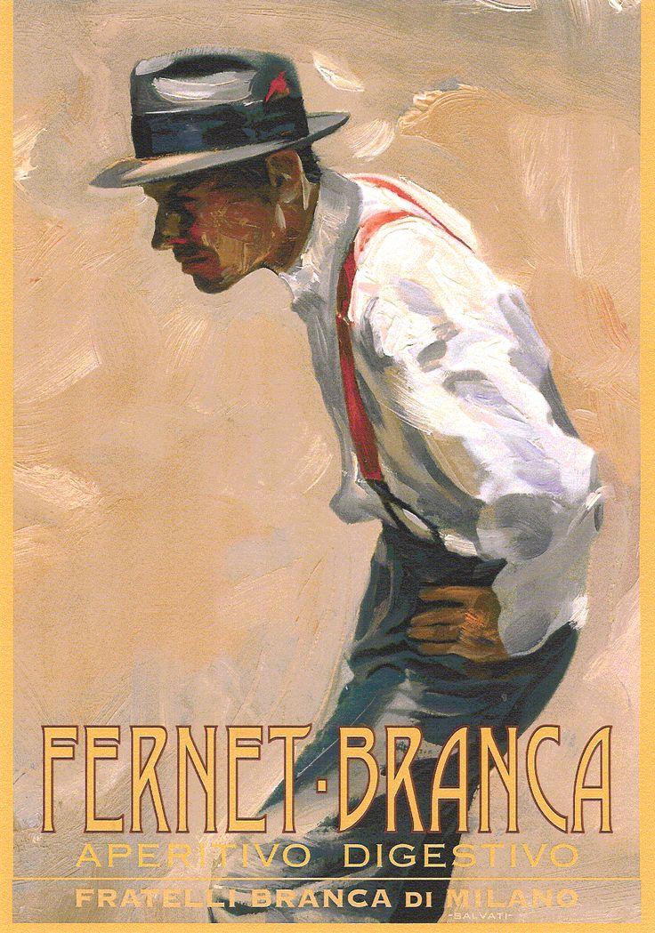 FERNET BRANCA. Italia.