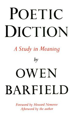 12 best judge a book images on pinterest book outlet outlet store poetic diction a study in meaning wesleyan paperback by owen barfield http fandeluxe Choice Image