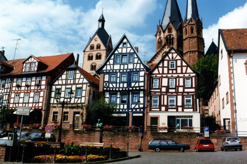 Gelnhausen, Germany. Lived 10 minutes from Gelnhausen and was where Hannah Jo was born.