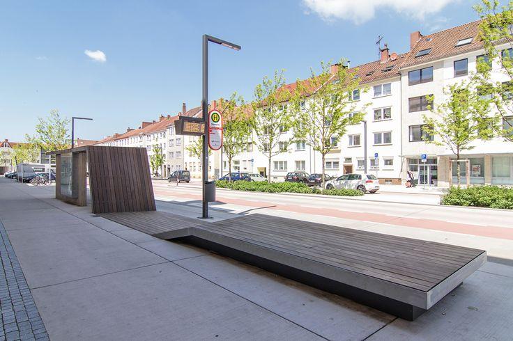 yellow z urbanism architecture & lad+ (2012): Rosenplatz in Osnabrück (DE), via detail.de