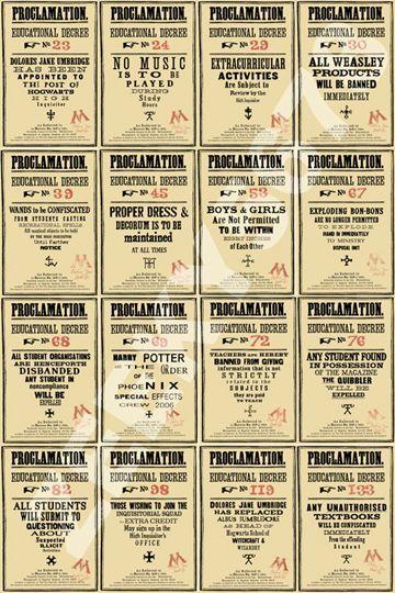 Printable Proclamations