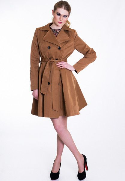 Classic Beige Trench Coat - £80.00 at Wear Eponymous