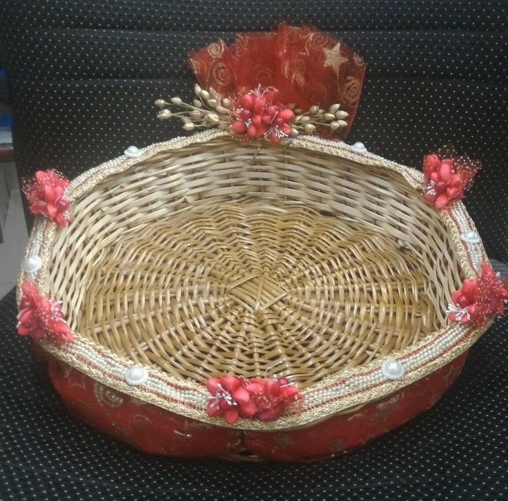 Wedding Tray Decoration Interesting Pinasha Latha On Gift Baskets  Pinterest  Decoration Decorating Design