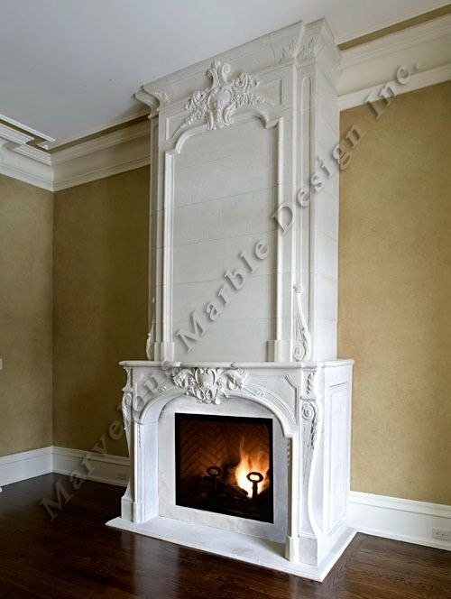 french marble fireplace mantel | toronto | california