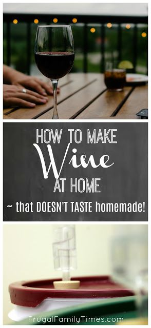 Best 25 make your own wine ideas on pinterest how to make wine how to make hooch and recipe - Make good house wine tips vinter ...