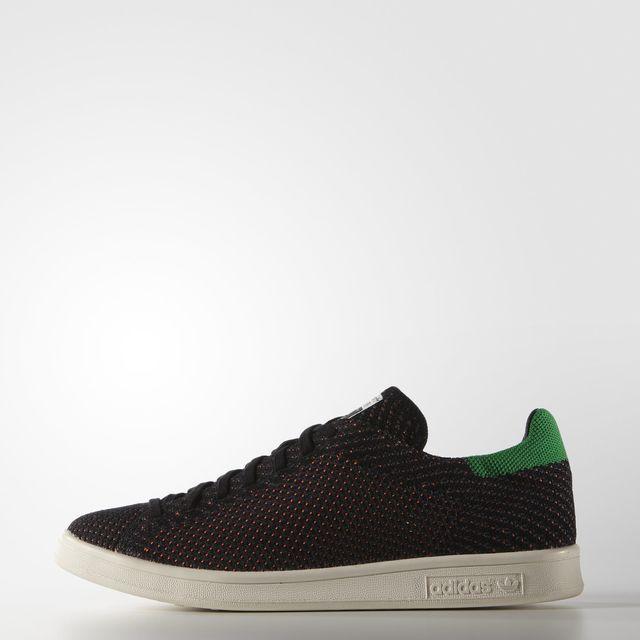 adidas Stan Smith Primeknit Shoes - Black | adidas UK