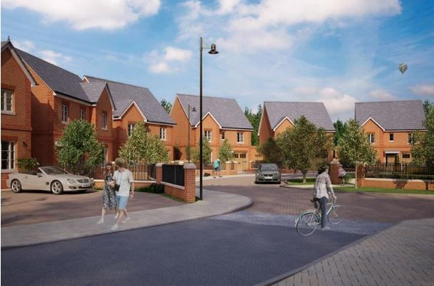 Bell Cornwell assisted with the successful approval from Hart District Council for the Demolition of the Gables, erection of 49 residential dwellings and associated landscaping works in Church Crookham, Farnham.