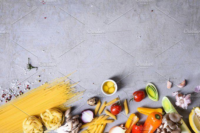 Italian Pasta Recipe by Iuliia Leonova on @creativemarket