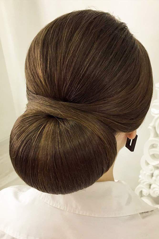 24 Drop Dead Gorgeous Updos For Long Hair Sleek Hair Updo Sleek Updo Sleek Hairstyles