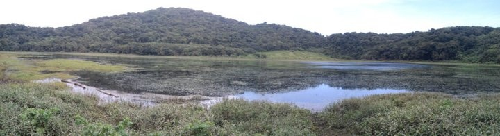 Laguna de las Ranas, ubicado en Chalchuapa, departamento de Santa Ana, El Salvador.