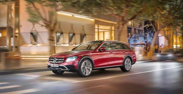 Der neue Mercedes E Klasse All-Terrain 2017 – Bilder