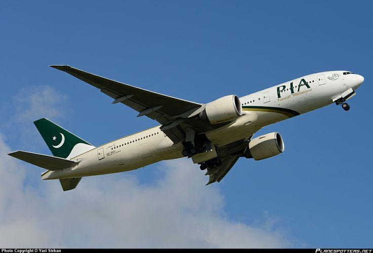 Pakistan International Airlines Boeing 777-240/LR (registered AP-BGY)