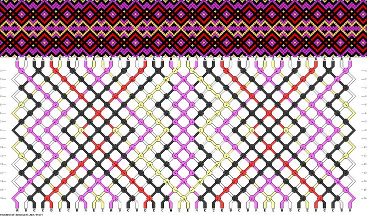 Friendship Bracelet site. Generates patterns, gallery, tons of patterns, etc...