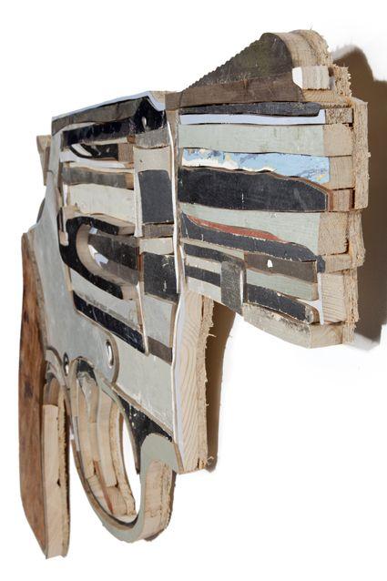 Revolver II - Old Wood - Diederick Kraaijeveld (Nu pas) deze geweldige Nederlandse kunstenaar ontdekt!