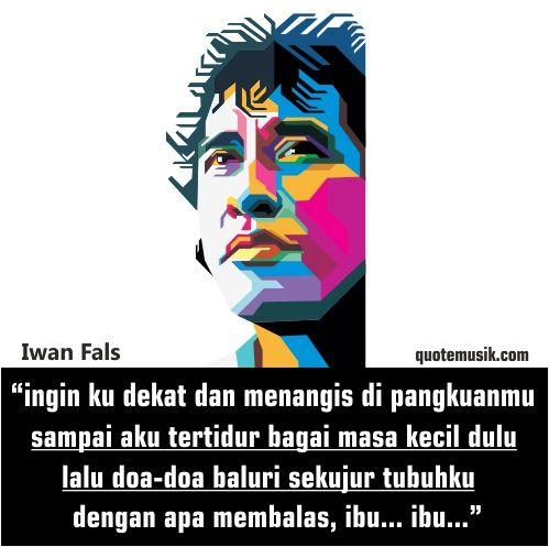 DP BBM Quotes lagu Ibu Iwan Fals