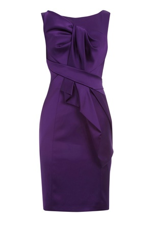 Karen Millen Dress... This is to-die-for. The colour is exactly as you would see in store. Stretch satin... this moves with you.