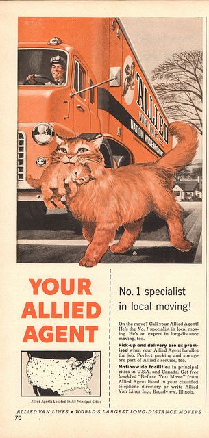 1956 Allied Van Lines Advertisement Time Magazine June 25 1956 | by SenseiAlan