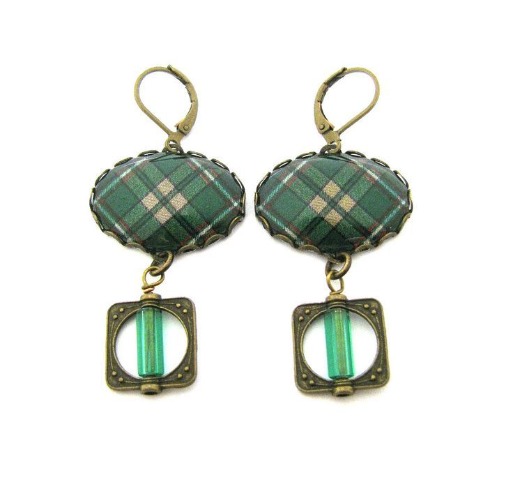 Scottish and Irish Tartan Jewelry - Ancient Romance Series - Irish O'Neill O'