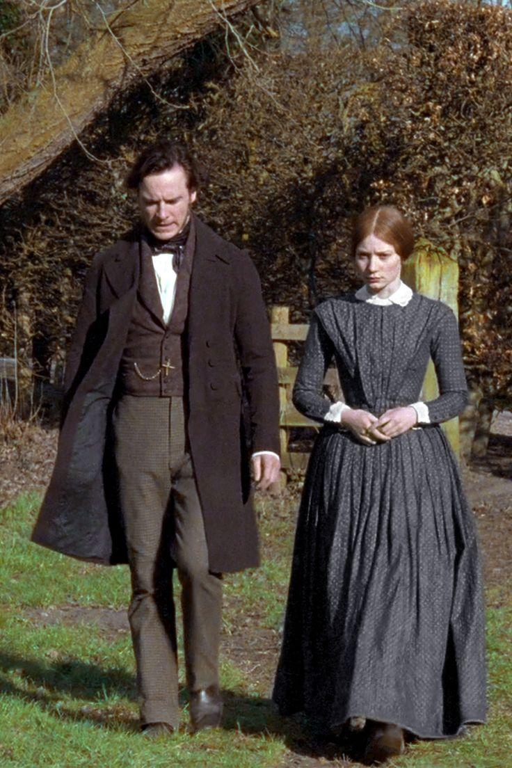 Michael Fassbender (Mr. Edward Fairfax Rochester) & Mia Wasikowska (Jane Eyre) - Jane Eyre (2011) #charlottebronte #caryfukunaga