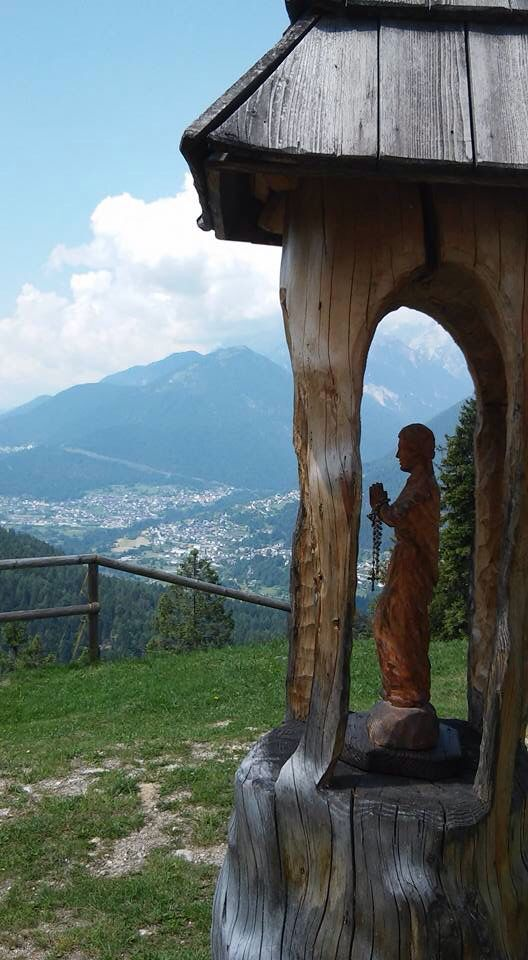 Eremo dei Romiti Domegge di Cadore Belluno Dolomiti Veneto Italia